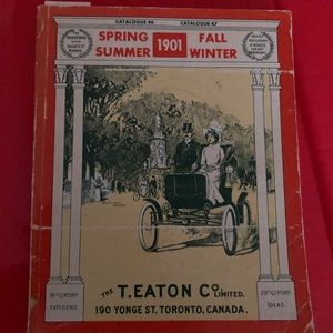 Other - 1901 Eaton's Catalogue ( collectors item)